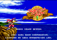 High Seas Havoc title screenshot