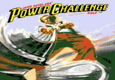 Jack Nicklaus' Power Challenge Golf title screenshot