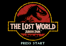 Jurassic Park - The Lost World title screenshot