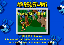 Marsupilami title screenshot
