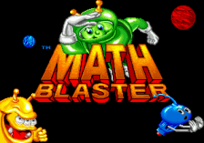Math Blaster - Episode 1 title screenshot