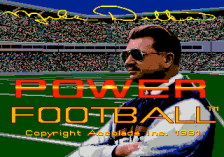 Mike Ditka Power Football title screenshot