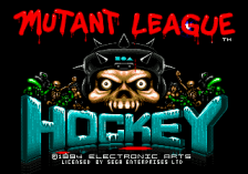 Mutant League Hockey title screenshot