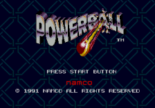 Powerball title screenshot