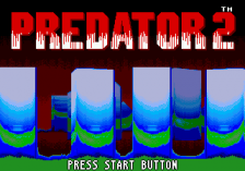 Predator 2 title screenshot
