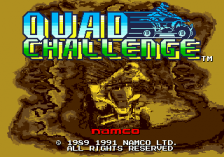 Quad Challenge title screenshot