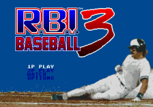 R.B.I. Baseball 3 title screenshot