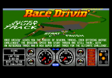 Race Drivin' title screenshot