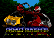Road Rash 2 title screenshot
