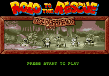 Rolo to the Rescue title screenshot