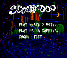 Scooby-Doo Mystery title screenshot