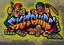 Skitchin' title screenshot