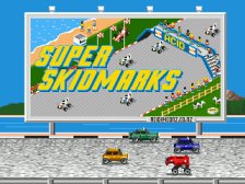 Super Skidmarks title screenshot
