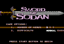 Sword of Sodan title screenshot