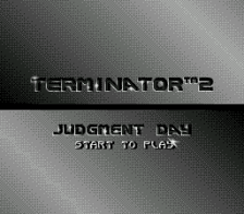 T2 - Terminator 2 - Judgment Day title screenshot