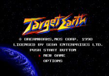 Target Earth title screenshot