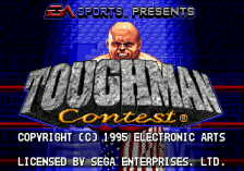 Toughman Contest title screenshot