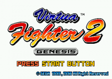 Virtua Fighter 2 title screenshot