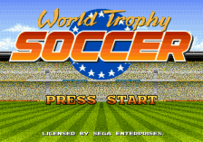 World Trophy Soccer title screenshot