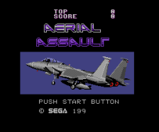 Aerial Assault title screenshot
