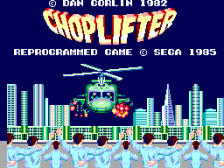 Choplifter title screenshot