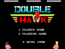 Double Hawk title screenshot