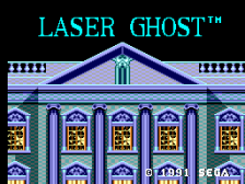 Laser Ghost title screenshot