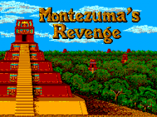 Montezuma's Revenge Featuring Panama Joe title screenshot