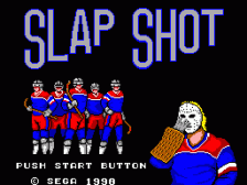 Slap Shot title screenshot