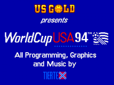 World Cup USA 94 title screenshot