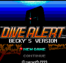 Dive Alert - Becky's Version title screenshot