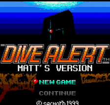 Dive Alert - Matt's Version title screenshot