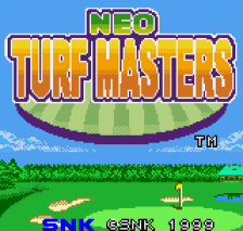 Neo Turf Masters title screenshot