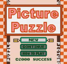 Picture Puzzle title screenshot