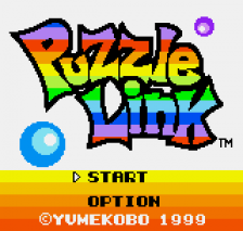 Puzzle Link title screenshot