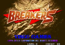 Breakers title screenshot