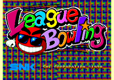 League Bowling title screenshot