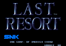 Last Resort title screenshot
