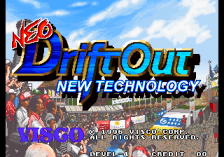 Neo Drift Out : New Technology title screenshot