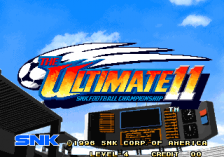 Super Sidekicks 4 - The Ultimate 11 SNK Football Championship title screenshot