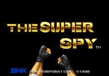 Super Spy, The title screenshot