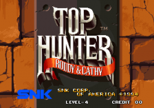 Top Hunter: Roddy & Cathy title screenshot