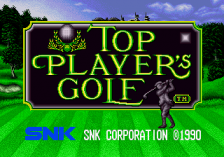 Top Player's Golf title screenshot
