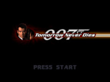 007 - Tomorrow Never Dies title screenshot