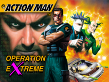 Action Man - Operation Extreme title screenshot