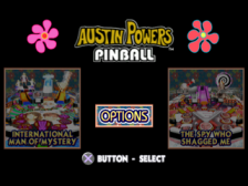 Austin Power's Pinball title screenshot