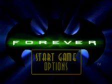 Batman Forever - The Arcade Game title screenshot