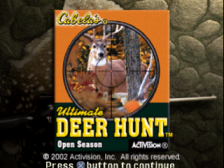 Cabela's Ultimate Deer Hunt - Open Season title screenshot