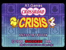 Crossroad Crisis title screenshot