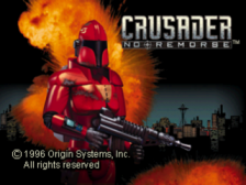 Crusader - No Remorse title screenshot
